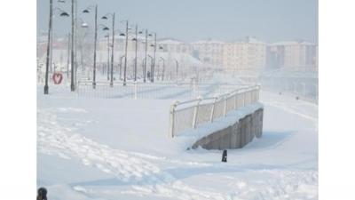 32,7 градуса под нулатав ИзточнаТурция (Видео)